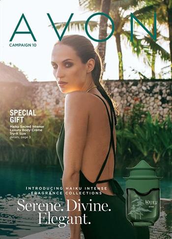 Avon Campaign 10, 2021 Brochure