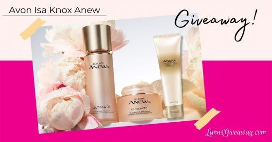Lynn's Avon Isa Knox Anew Giveaway!