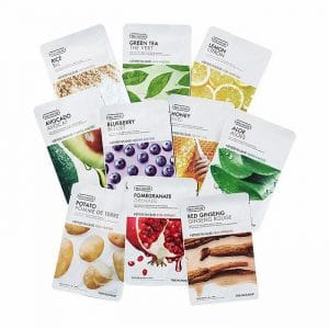 The Face Shop 10 Indulgent Moments Mask Set
