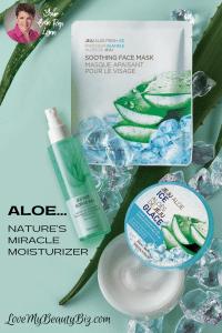 Aloe… Nature's Miracle Moisturizer