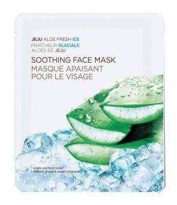 Jeju Aloe Fresh Ice Soothing Face Mask