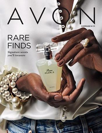 Avon Campaign 14, 2021 Rare Finds Brochure