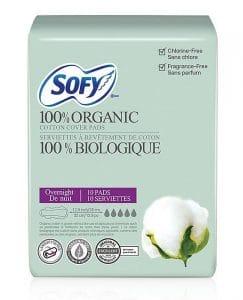 Overnight SOFY Sanitary Pads