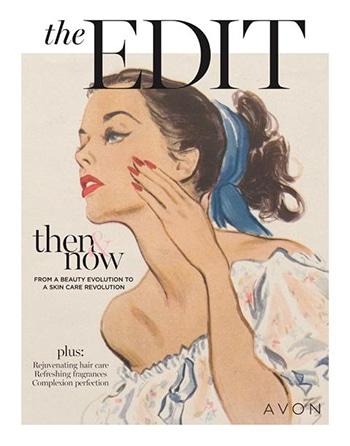 Avon Campaign 17, 2021 The Edit Then & Now Brochure