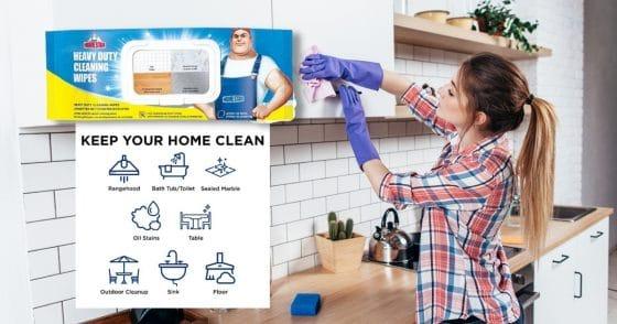 Homestar Heavy Duty Cleaning Wipes