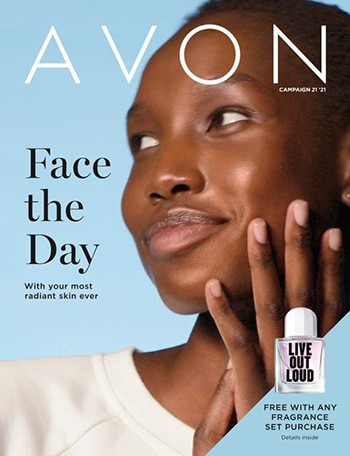 Avon Campaign 21, 2021 Face The Day Brochure