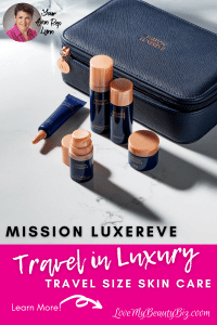 Travel In Luxury With Mission Luxereve Travel Size Skin Care