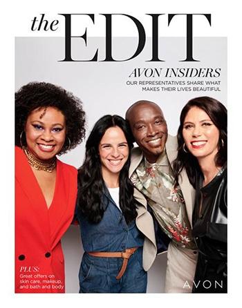 Avon Campaign 23, 2021 The Edit Avon Insiders Brochure